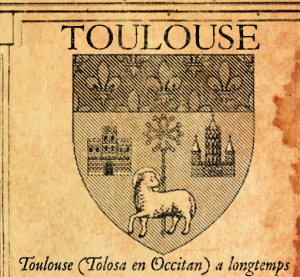 Redesigned Toulouse blazon