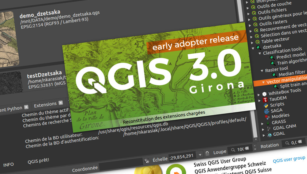 Dzetsaka, classification plugin, is now available on Qgis 3