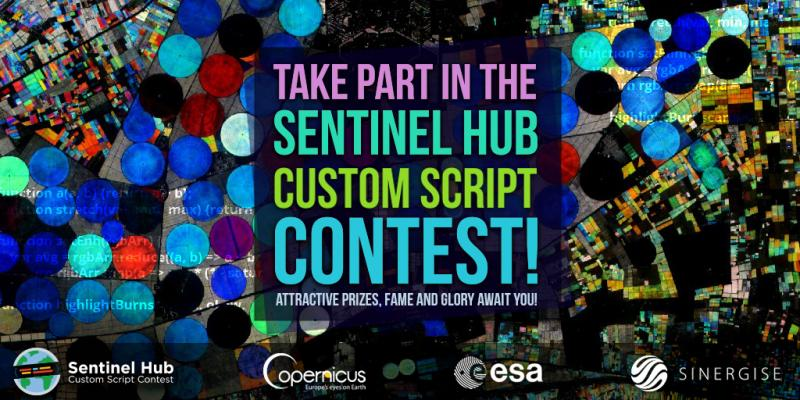 🏆 3 rewards including a first prize for my participation in Sentinel-Hub contest !